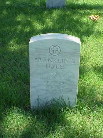 HALE (VETERAN VIET), FRANKLIN D - Pulaski County, Arkansas | FRANKLIN D HALE (VETERAN VIET) - Arkansas Gravestone Photos