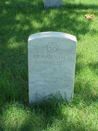 HALE (VETERAN VIET), FRANKLIN D - Pulaski County, Arkansas | FRANKLIN D HALE (VETERAN VIET) - Arkansas Gravestone Photos
