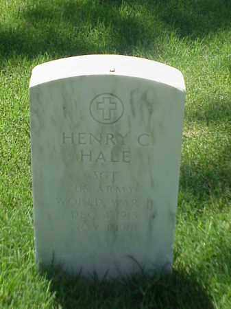 HALE (VETERAN WWII), HENRY C - Pulaski County, Arkansas | HENRY C HALE (VETERAN WWII) - Arkansas Gravestone Photos