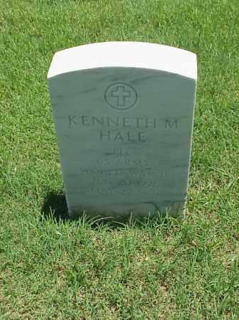 HALE (VETERAN WWII), KENNETH M - Pulaski County, Arkansas | KENNETH M HALE (VETERAN WWII) - Arkansas Gravestone Photos