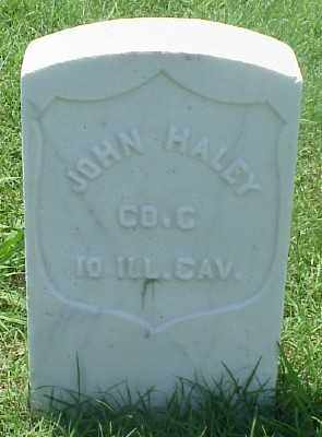 HALEY (VETERAN UNION), JOHN - Pulaski County, Arkansas | JOHN HALEY (VETERAN UNION) - Arkansas Gravestone Photos