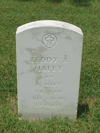 HALEY (VETERAN VIET), TEDDY A - Pulaski County, Arkansas | TEDDY A HALEY (VETERAN VIET) - Arkansas Gravestone Photos