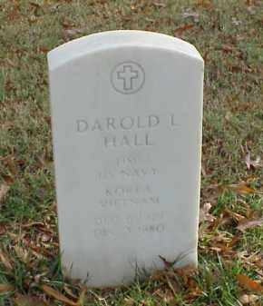HALL  (VETERAN 2 WARS), DAROLD L - Pulaski County, Arkansas | DAROLD L HALL  (VETERAN 2 WARS) - Arkansas Gravestone Photos