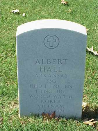 HALL  (VETERAN 3 WARS), ALBERT - Pulaski County, Arkansas | ALBERT HALL  (VETERAN 3 WARS) - Arkansas Gravestone Photos