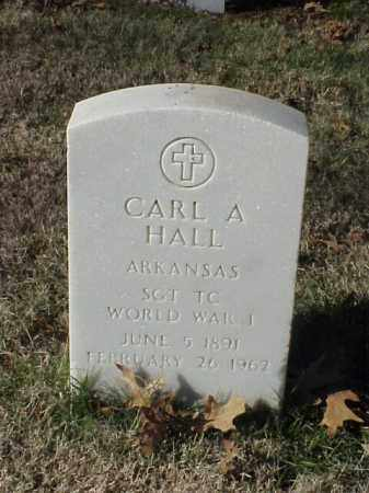 HALL  (VETERAN WWI), CARL A - Pulaski County, Arkansas | CARL A HALL  (VETERAN WWI) - Arkansas Gravestone Photos