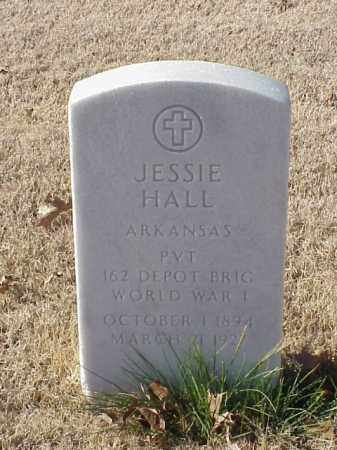 HALL  (VETERAN WWI), JESSIE - Pulaski County, Arkansas | JESSIE HALL  (VETERAN WWI) - Arkansas Gravestone Photos