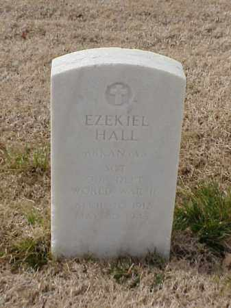 HALL  (VETERAN WWII), EZEKIEL - Pulaski County, Arkansas | EZEKIEL HALL  (VETERAN WWII) - Arkansas Gravestone Photos