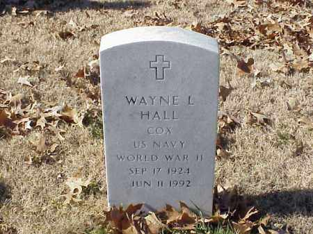 HALL  (VETERAN WWII), WAYNE L - Pulaski County, Arkansas | WAYNE L HALL  (VETERAN WWII) - Arkansas Gravestone Photos