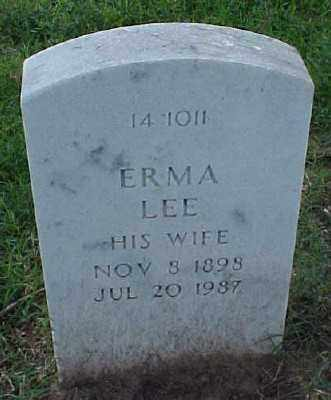 HALL, ERMA LEE - Pulaski County, Arkansas | ERMA LEE HALL - Arkansas Gravestone Photos