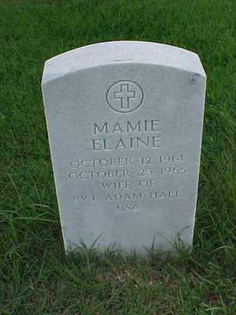 HALL, MAMIE ELAINE - Pulaski County, Arkansas | MAMIE ELAINE HALL - Arkansas Gravestone Photos