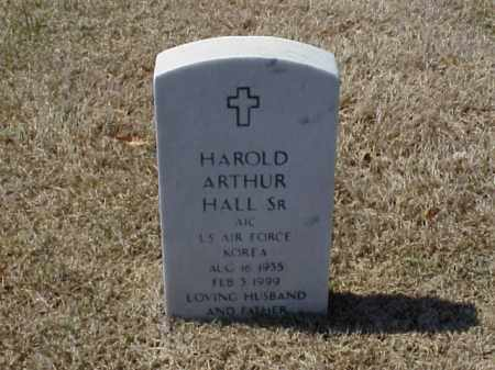 HALL, SR (VETERAN KOR), HAROLD ARTHUR - Pulaski County, Arkansas | HAROLD ARTHUR HALL, SR (VETERAN KOR) - Arkansas Gravestone Photos