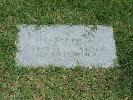 HALL, SR (VETERAN WWII), DONALD E - Pulaski County, Arkansas | DONALD E HALL, SR (VETERAN WWII) - Arkansas Gravestone Photos