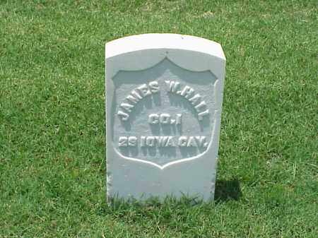 HALL (VETERAN UNION), JAMES W - Pulaski County, Arkansas | JAMES W HALL (VETERAN UNION) - Arkansas Gravestone Photos