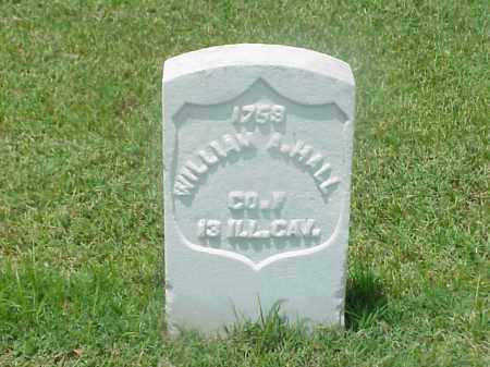 HALL (VETERAN UNION), WILLIAM A - Pulaski County, Arkansas | WILLIAM A HALL (VETERAN UNION) - Arkansas Gravestone Photos