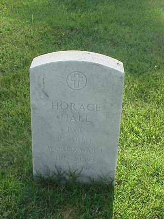 HALL (VETERAN WWI), HORACE - Pulaski County, Arkansas | HORACE HALL (VETERAN WWI) - Arkansas Gravestone Photos
