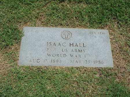 HALL (VETERAN WWI), ISAAC - Pulaski County, Arkansas | ISAAC HALL (VETERAN WWI) - Arkansas Gravestone Photos