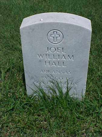 HALL (VETERAN WWI), JOEL WILLIAM - Pulaski County, Arkansas | JOEL WILLIAM HALL (VETERAN WWI) - Arkansas Gravestone Photos