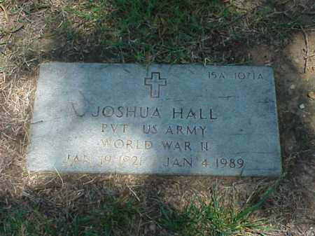 HALL (VETERAN WWII), JOSHUA - Pulaski County, Arkansas | JOSHUA HALL (VETERAN WWII) - Arkansas Gravestone Photos