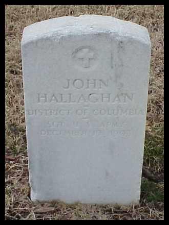 HALLAGHAN (VETERAN), JOHN - Pulaski County, Arkansas | JOHN HALLAGHAN (VETERAN) - Arkansas Gravestone Photos