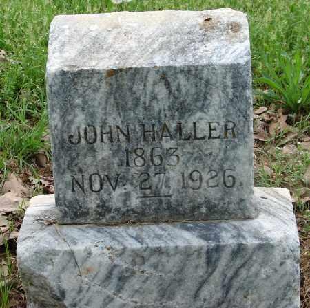 HALLER, JOHN - Pulaski County, Arkansas | JOHN HALLER - Arkansas Gravestone Photos