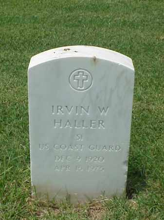 HALLER (VETERAN WWII), IRVIN W - Pulaski County, Arkansas | IRVIN W HALLER (VETERAN WWII) - Arkansas Gravestone Photos