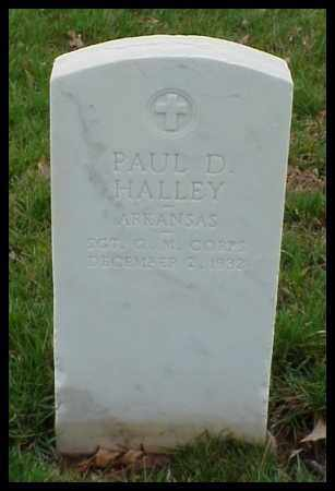 HALLEY (VETERAN WWI), PAUL D - Pulaski County, Arkansas | PAUL D HALLEY (VETERAN WWI) - Arkansas Gravestone Photos