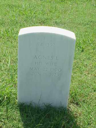 HALLIBURTON, AGNES L - Pulaski County, Arkansas | AGNES L HALLIBURTON - Arkansas Gravestone Photos