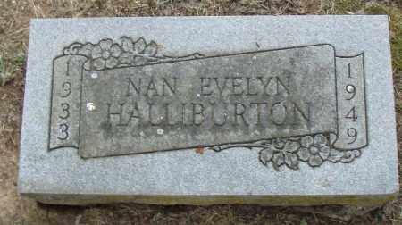 HALLIBURTON, NAN  EVELYN - Pulaski County, Arkansas | NAN  EVELYN HALLIBURTON - Arkansas Gravestone Photos