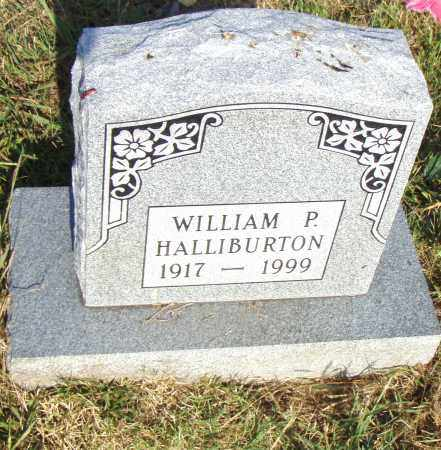 HALLIBURTON, WILLIAM P - Pulaski County, Arkansas | WILLIAM P HALLIBURTON - Arkansas Gravestone Photos