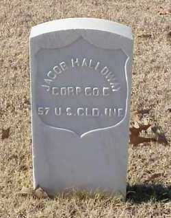 HALLOWAY  (VETERAN UNION), JACOB - Pulaski County, Arkansas | JACOB HALLOWAY  (VETERAN UNION) - Arkansas Gravestone Photos