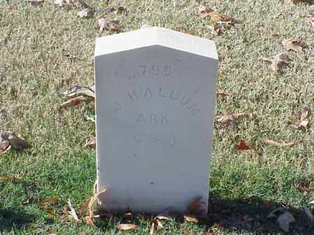 HALLUM  (VETERAN CSA), J - Pulaski County, Arkansas | J HALLUM  (VETERAN CSA) - Arkansas Gravestone Photos