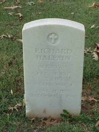 HALPAIN  (VETERAN WWI), RICHARD - Pulaski County, Arkansas | RICHARD HALPAIN  (VETERAN WWI) - Arkansas Gravestone Photos
