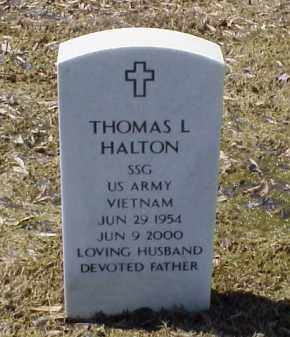 HALTON (VETERAN VIET), THOMAS L - Pulaski County, Arkansas | THOMAS L HALTON (VETERAN VIET) - Arkansas Gravestone Photos
