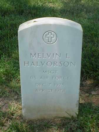HALVORSON (VETERAN), MELVIN L - Pulaski County, Arkansas | MELVIN L HALVORSON (VETERAN) - Arkansas Gravestone Photos