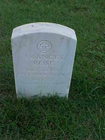 HAM, FRANCES ROSE - Pulaski County, Arkansas | FRANCES ROSE HAM - Arkansas Gravestone Photos