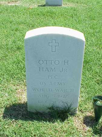 HAM, JR (VETERAN WWII), OTTO H - Pulaski County, Arkansas | OTTO H HAM, JR (VETERAN WWII) - Arkansas Gravestone Photos