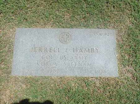 HAMBY VETERAN 2 WARS), JERRELL E - Pulaski County, Arkansas | JERRELL E HAMBY VETERAN 2 WARS) - Arkansas Gravestone Photos