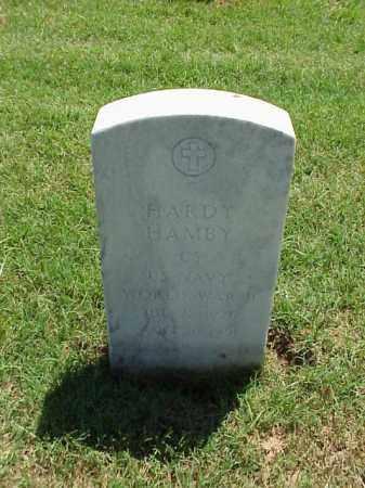 HAMBY (VETERAN WWII), HARDY - Pulaski County, Arkansas | HARDY HAMBY (VETERAN WWII) - Arkansas Gravestone Photos