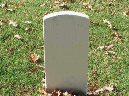 HAMILTON  (VETERAN CSA), WILLIAM H - Pulaski County, Arkansas | WILLIAM H HAMILTON  (VETERAN CSA) - Arkansas Gravestone Photos