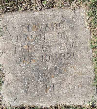 HAMILTON, EDWARD - Pulaski County, Arkansas | EDWARD HAMILTON - Arkansas Gravestone Photos