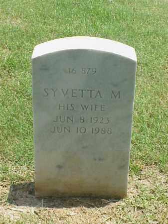 HAMILTON, SYVETTA M. - Pulaski County, Arkansas | SYVETTA M. HAMILTON - Arkansas Gravestone Photos