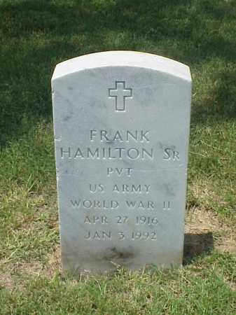 HAMILTON, SR (VETERAN WWII), FRANK - Pulaski County, Arkansas | FRANK HAMILTON, SR (VETERAN WWII) - Arkansas Gravestone Photos