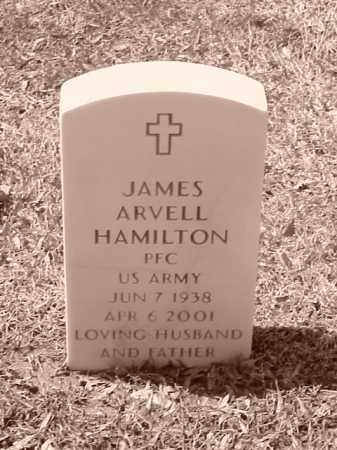 HAMILTON (VETERAN), JAMES ARVELL - Pulaski County, Arkansas | JAMES ARVELL HAMILTON (VETERAN) - Arkansas Gravestone Photos