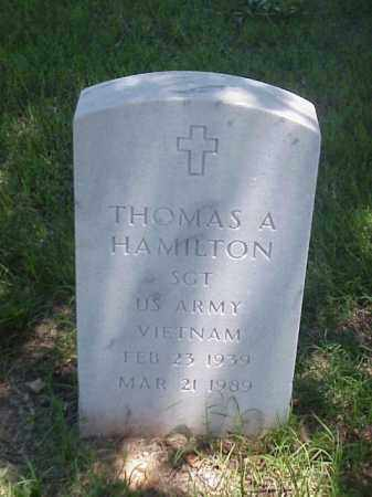 HAMILTON (VETERAN VIET), THOMAS A - Pulaski County, Arkansas | THOMAS A HAMILTON (VETERAN VIET) - Arkansas Gravestone Photos