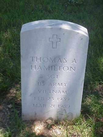 HAMILTON (VETERAN VIET), THOMAS A - Pulaski County, Arkansas | THOMAS A HAMILTON (VETERAN VIET) - Arkansas Gravestone Photos