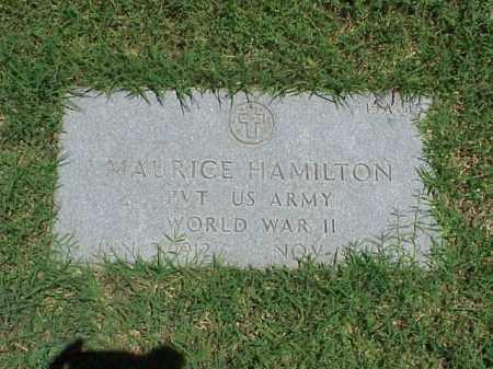 HAMILTON (VETERAN WWII), MAURICE - Pulaski County, Arkansas | MAURICE HAMILTON (VETERAN WWII) - Arkansas Gravestone Photos