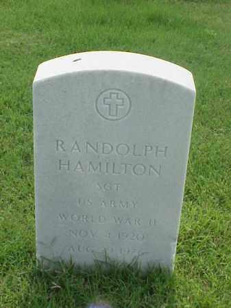 HAMILTON (VETERAN WWII), RANDOLPH - Pulaski County, Arkansas | RANDOLPH HAMILTON (VETERAN WWII) - Arkansas Gravestone Photos