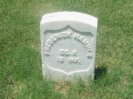 HAMMER (VETERAN UNION), FREDERICK - Pulaski County, Arkansas | FREDERICK HAMMER (VETERAN UNION) - Arkansas Gravestone Photos