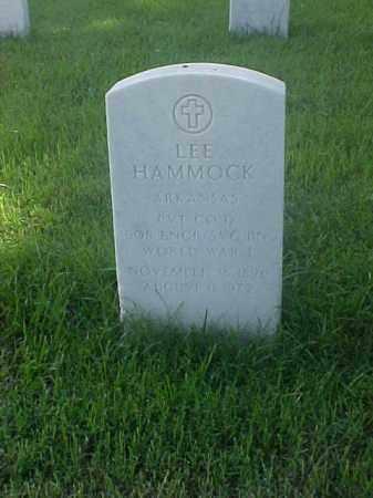 HAMMOCK (VETERAN WWI), LEE - Pulaski County, Arkansas | LEE HAMMOCK (VETERAN WWI) - Arkansas Gravestone Photos