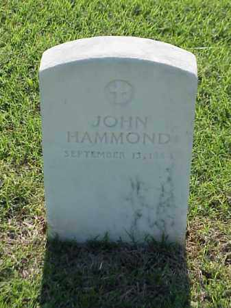 HAMMOND (VETERAN CSA), JOHN - Pulaski County, Arkansas | JOHN HAMMOND (VETERAN CSA) - Arkansas Gravestone Photos